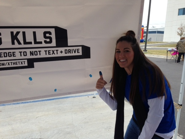 Kirk Darnell - Bartlesville High School Students Take X the TXT® Pledge