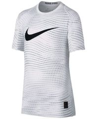 Image of Nike Pro Logo-Print T-Shirt, Big Boys (8-20)