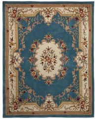 "Image of CLOSEOUT! KM Home Majesty Aubusson 2'6"" x 8' Runner Rug, Created for Macy's"