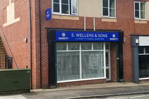 S. Wellens & Sons Funeral Directors in Blackley, Manchester.