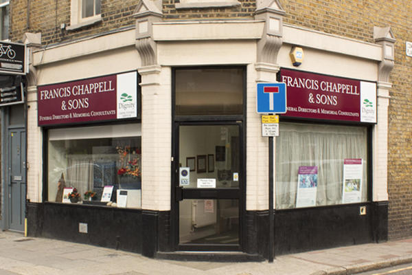 Francis Chappell & Sons Funeral Directors in Greenwich