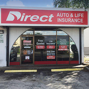 Front of Direct Auto store at 1220 North State Road 7, Lauderhill