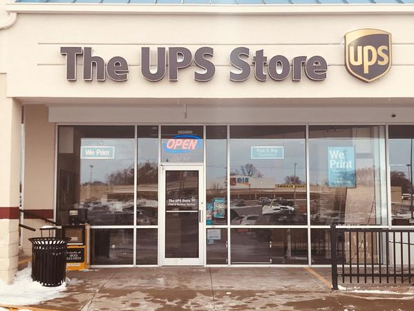 Facade of The UPS Store Quincy