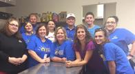 Our Allstate agency team volunteering in Manasas, VA