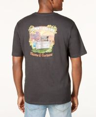 Image of Tommy Bahama Men's Flame & Fortune Graphic-Print T-Shirt