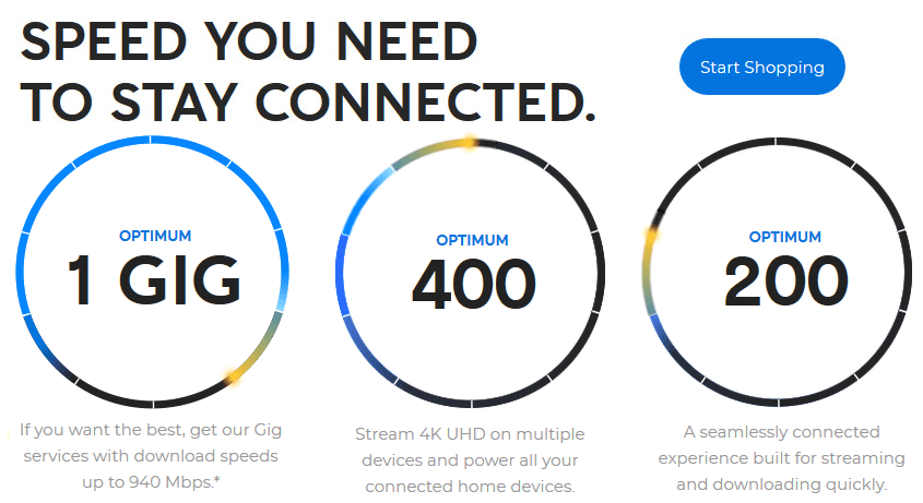 The speed you need to stay connected in Hamilton, NJ