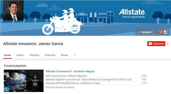 James Garcia - James Garcia YouTube Channel
