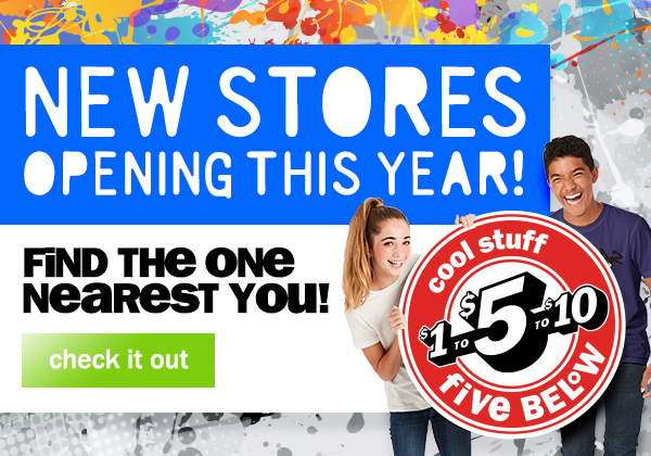 NEW STORES OPENING THIS YEAR! CHECK BACK OFTEN FOR UPDATES! CHECK IT OUT!