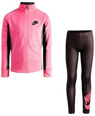 Image of Nike 2-Pc. Jacket & Leggings Set, Little Girls