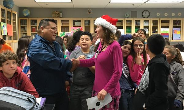 Peer chosen Teacher of the Year at Calavera Hills Middle School