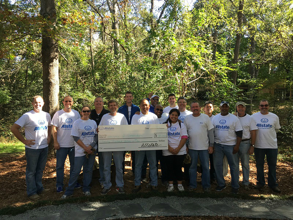 Stacey Deese - Allstate Foundation Grant for the Greensboro Hospice and Palliative Center