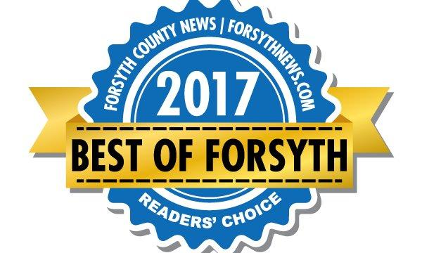 Justin Adams Agency won Best Insurance Agent in Forsyth County 2017
