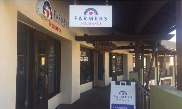Exterior of Farmers Insurance Agency