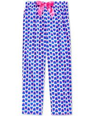 Image of Max & Olivia Heart Print Sleep Pants, Little Girls (4-6X), Big Girls (7-16), Created for Macy's