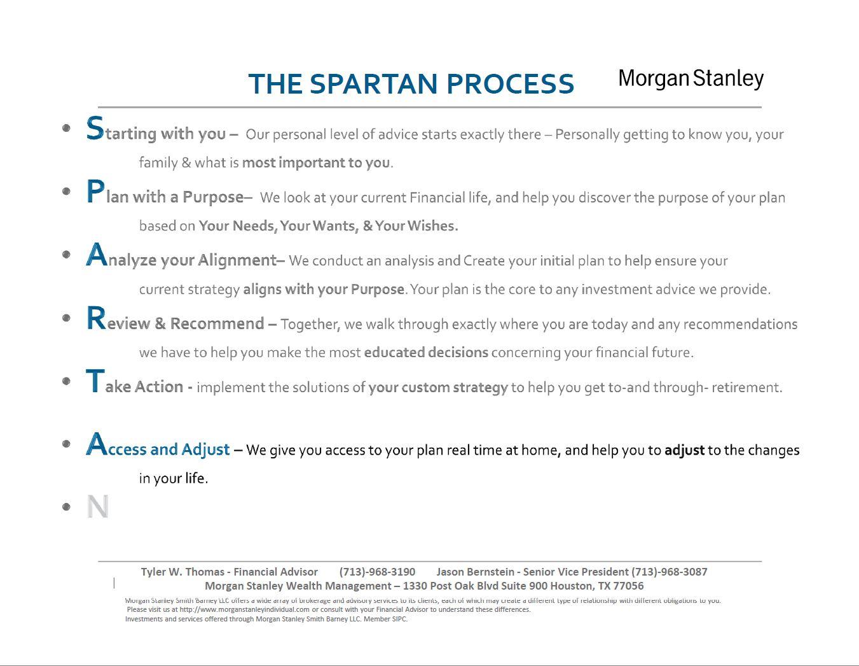 The Spartan Group | Houston, TX | Morgan Stanley Wealth