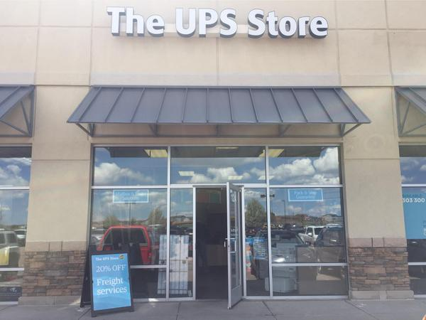 Facade of The UPS Store Falcon