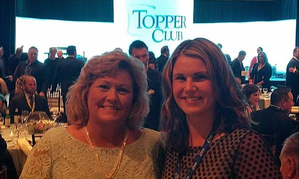 Gina attending Toppers Club 2017 in Asheville, NC