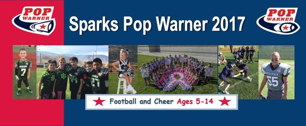 Sparks Pop Warner Football