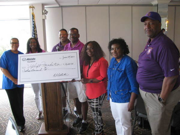 Barbara J. Brown - Allstate Foundation Helping Hands Grant Helps the Uplift Foundation