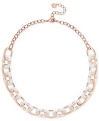 Image of Charter Club Resin Link Statement Necklace, Created for Macy's