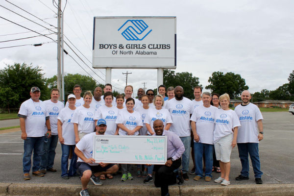 James F. Smith - Boys & Girls Clubs Receives Allstate Foundation Helping Hands Grant