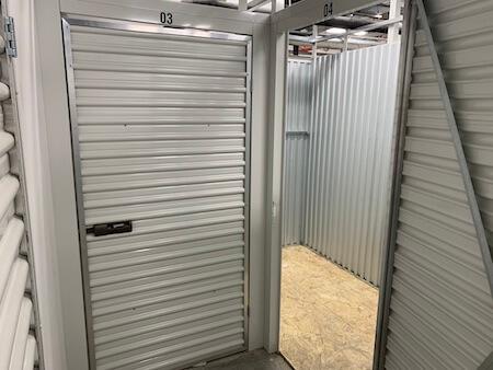 Park slope storage facility
