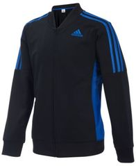 Image of adidas Athletic Linear Jacket, Little Boys
