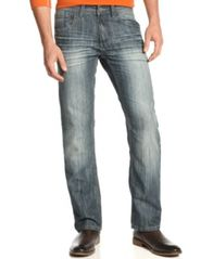 Image of INC International Concepts Slim Straight Jeans, Created for Macy's