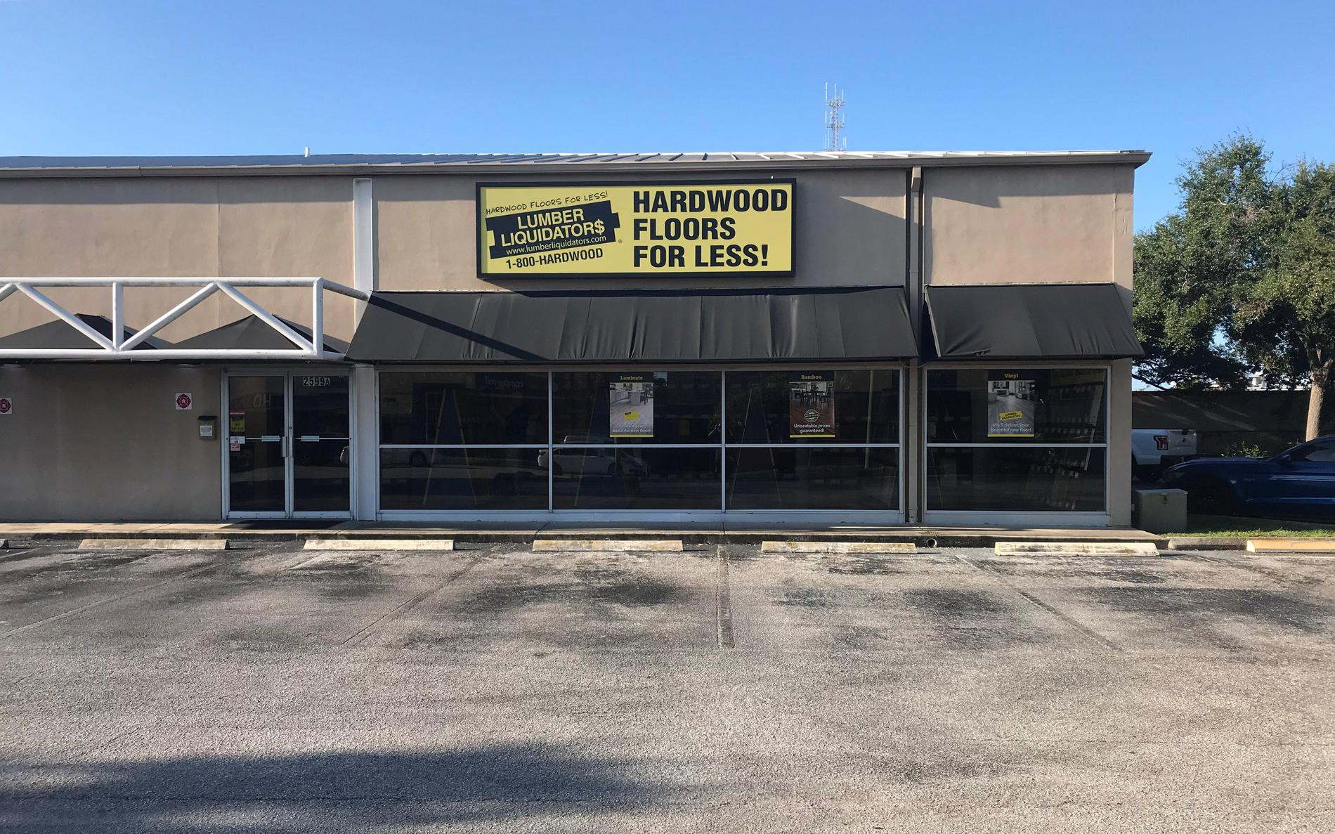 Lumber Liquidators Flooring #1257 Saint Petersburg | 2599 22nd Avenue North | Store Front