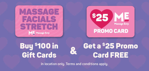 Get a FREE $25 promo card when you buy $100 in gift cards for Valentine's Day*