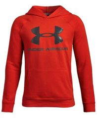 Image of Under Armour Big Boys Rival Logo-Print Hoodie