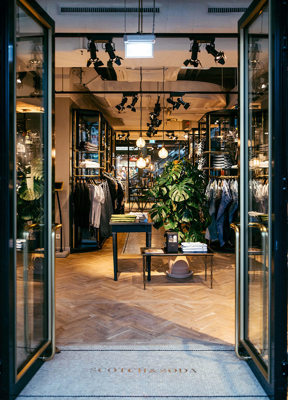 Scotch & Soda store façade