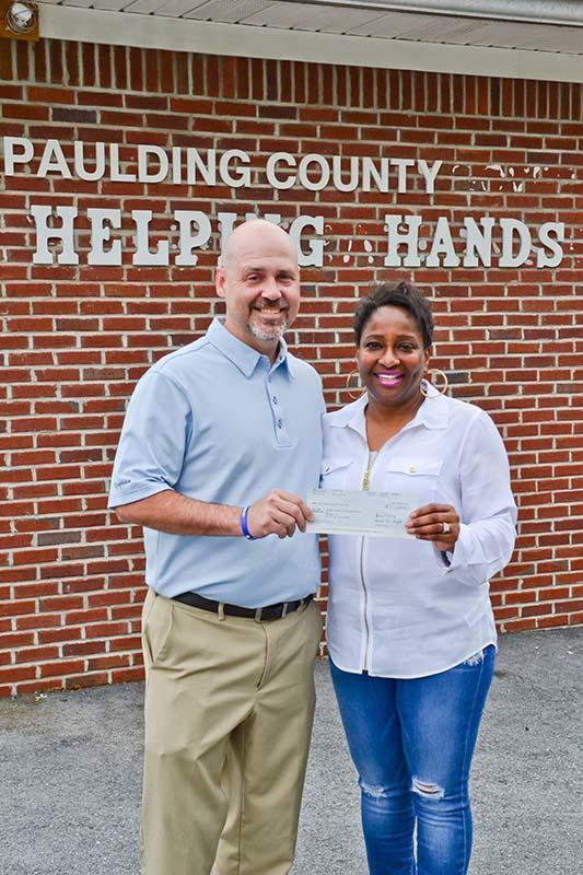 Travis Miller - : Support for Helping Hands of Paulding County