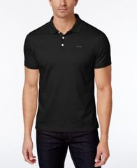 Image of Calvin Klein Men's Liquid Touch Interlock Polo