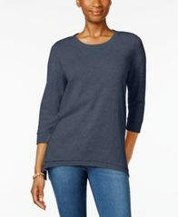 Image of Style & Co Layered-Hem Top, Created for Macy's
