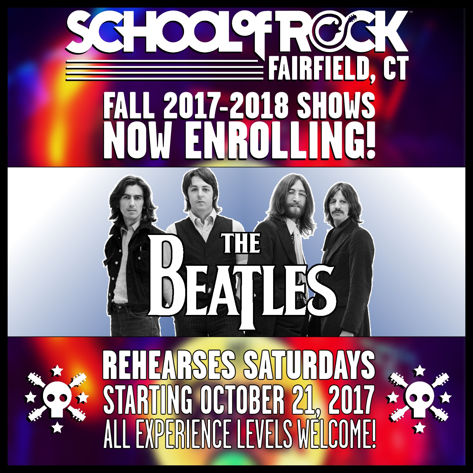 Image of FALL 2017-2018 SHOW #6: THE BEATLES