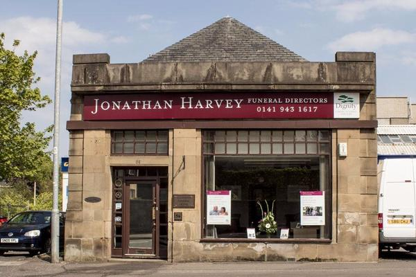 Jonathan Harvey Funeral Directors in 56 Drymen Road, Bearsden, Glasgow