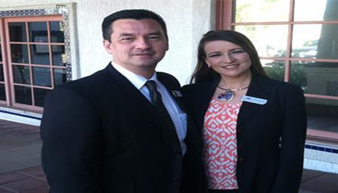 Eileen Ferrufino, Farmers Agent® with Hugh Nguyen, Orange County Clerk Recorder