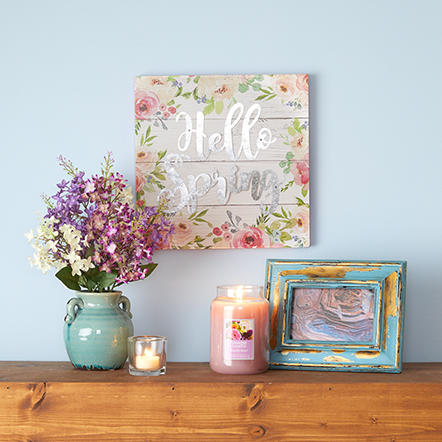 Spring Décor. Get ready for a fresh start with our ever-changing selection of bright and colorful treasures. You'll bring home the joy with perfect finds at perfect prices.