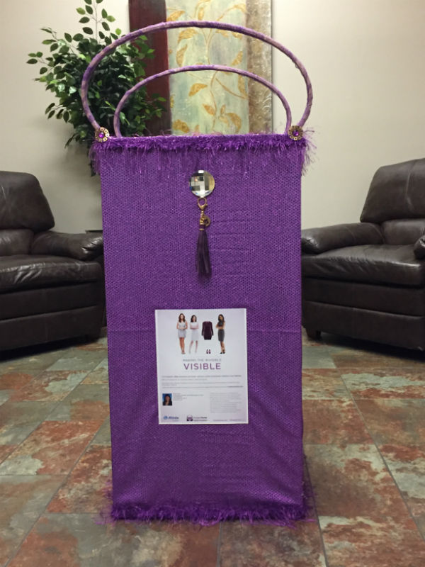 Quezada Jacobs Family Agency, LLC - Allstate Foundation Helping Hands Grant for Purple Purse