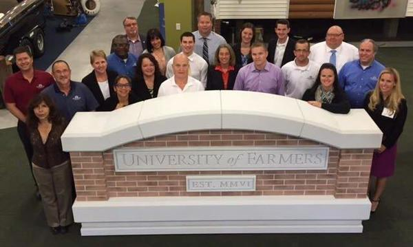 University of Farmers classmates - great group of people here.