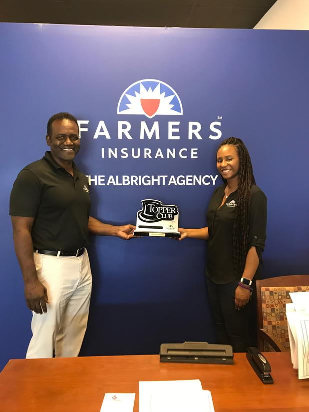 Two Farmers Insurance Albright Agents