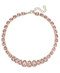 "Image of Charter Club Crystal Collar Necklace, 16"" + 2"" extender, Created for Macy's"