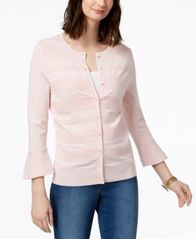 Image of Charter Club Bell-Sleeve Cardigan, Created for Macy's