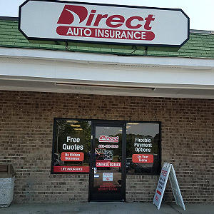 Front of Direct Auto store at 946 West Andrews Avenue, Henderson