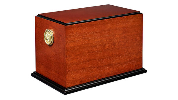 The Riverside from our Traditional Urns and Ashes Casket collection