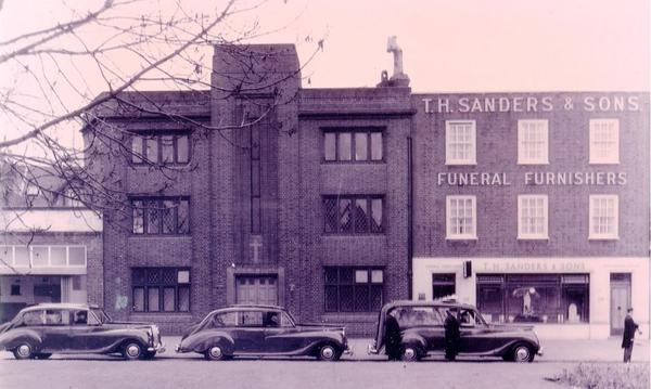 T H Sanders & Sons Funeral Directors historical photograph