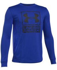 Image of Under Armour Two-Tone UA Tech™ Graphic-Print Shirt, Big Boys (8-20)