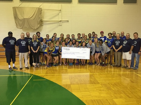 Raymond Thielen - Allstate Foundation Grant for Ulman Cancer Fund for Young Adults