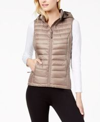 Image of 32 Degrees Hooded Packable Puffer Vest